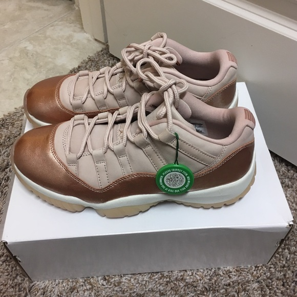 17ee70fec0df Jordan 11 Retro Low Rose Gold